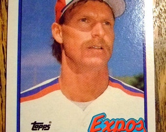 Vintage 1989 Topps <b>Randy Johnson</b> Rookie Card, The Big Unit, Cy Young Winner, - il_340x270.631653040_pcza