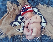 SALE Newborn Anchor hat Photography Prop  (many colors available sizes nb, 1-3mos, 3-6mos, 6-12mos)