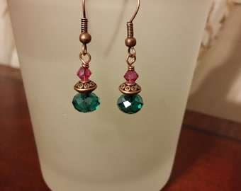 Sale!! Tropical Copper Earrings