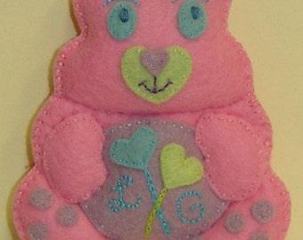LOLLIPOP GUILD Bellie Bear by Tess Wentz of Tess Creates