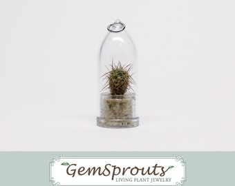 GemSprouts - Ball Cactus Necklace with Ballchain