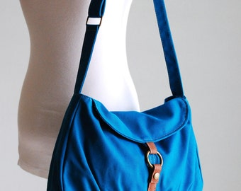Christmas in July SALE- Teal, Laptop bag, Shoulder Bag, Messenger Bag, Handbag, School Bag, Women, Shopping Bag, Gifts, 40% OFF