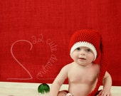Mr Santa Claus Gift Set Boutique Beanie Hat Diaper Cover Christmas Holiday Soft Baby Boy Girl Photo Prop MADE TO ORDER