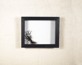 8x10 Shadow Box Frame - DEEP Shadow Box, 2 Inches or 3 Inches Deep, Display Case - Black