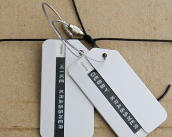 Luggage Gift Tag - Set of 2