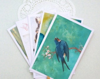 Pack of 5 POSTCARDS - Buy 4 get 1 FREE (A6 size)