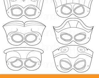 Tiki Party Masks, tiki faces, tiki costume, hawaiian tiki