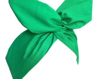 Emerald green Pin up ROCKABILLY Wire Headband