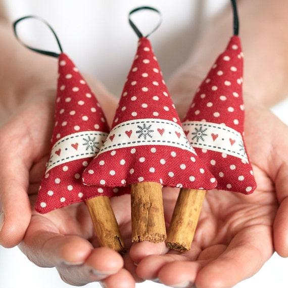 Items similar to snowflake holiday decor ornament cinnamon for Unique xmas decorations