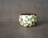 Floral autumn rustic bracelet, woodland and natural history, summer woodland bracelet, floral pattern
