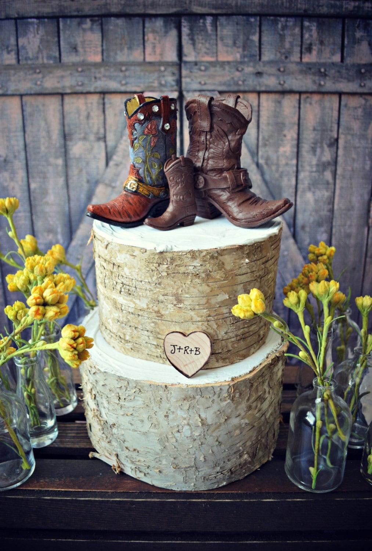 Western Family Custom Wedding Cake