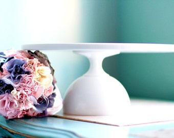 Cake Plate / Cake Stand / Cake Pedestal / Cake Dish / Cake Platter / 10 inch