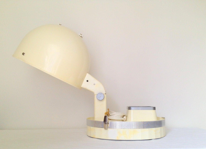 Portable Hair Dryer ~ Vintage rayette aqua net portable hair dryer by