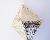 Piñata - Gold Octahedron