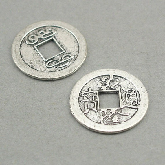 chinese coins lucky charms