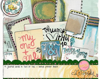 With You; Journaling Cards