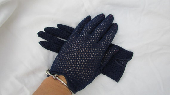 Womens Dress Gloves Crochet Lace Gloves by WhyWeLoveThePast