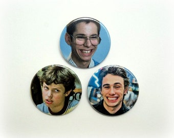Freaks and Geeks set  - button badge or magnet 1.5 Inch
