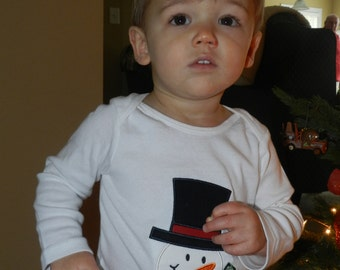 Snowman Shirt / Personalized / Frosty / Christmas / Winter Party
