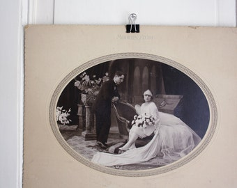 WEDDING // Antique large photograph