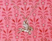 """Pegasus 18"""" Charm Necklace"""