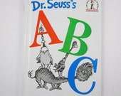 """h Vintage Dr. Seuss """"A B C"""" Chidren's Beginner Book"""