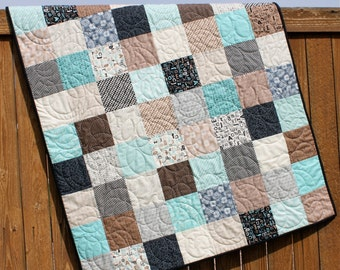 Animal Baby Boy Quilt Life In The Jungle Blanket By