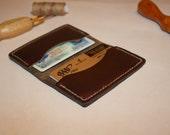 Horween Chromexcel Minimalist Card Wallet