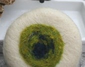 Lemongrass & Eucalyptus Wet -n- Wooly Felted Soap