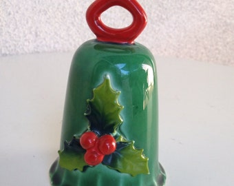 Vintage Holt holly bell ceramic 1964