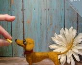 Dachshund, Needle Felted Dachshund, Doxie, Dachshund Gifts, Dachshund Art, Handmade Dachshund,Weiner Dog