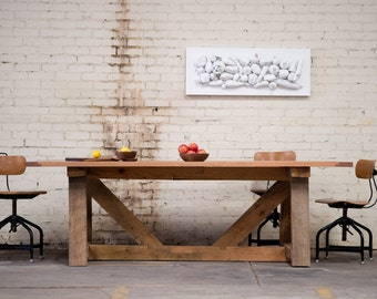 ON SALE - PROTOTYPE Ellis Farm Table