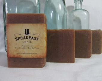 Oatmeal Milk & Honey Speakeasy Soap, vegan, handmade
