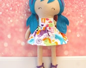 Rag Doll Plush - Natalie - Ready To Ship