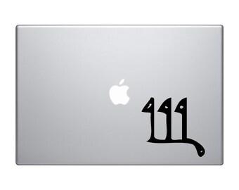Egyptian Symbols #5 - Flag Hieroglyph Decorative Art - Mac Apple Laptop iPad