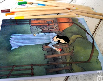 Snow White Notebook, Stocking Filler