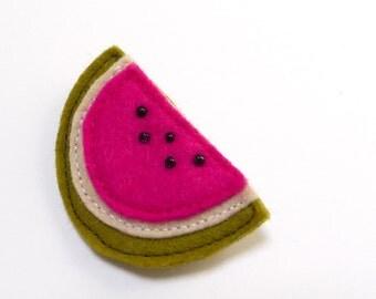 watermelon  brooch