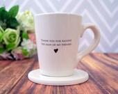 SHIPS FAST - Thank you for raising the man of my dreams - Coffee Mug