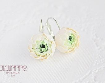 Fresh floral earrings