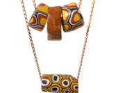 Tribal Necklace - Double-strand African Trade Bead