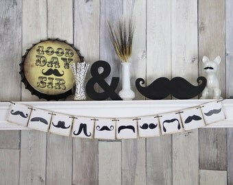 Mustache Banner, Mustache Party Decor, Mustache Party Banner, Little Man Mustache Party, Mustache Bash