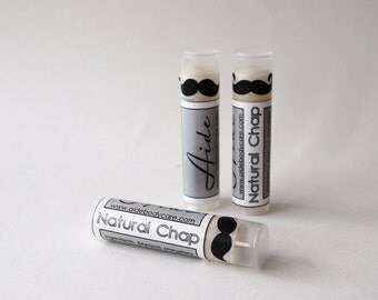 Natural Chap Lip Balm, All Natural Lip Balm, Natural Chap Stick, Plain Lip Balm, Beeswax Lip Balm