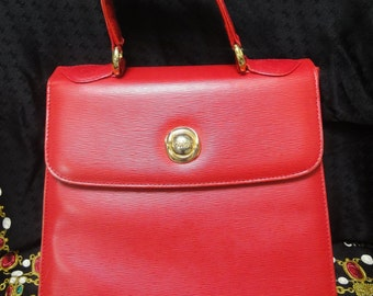 red chloe purse