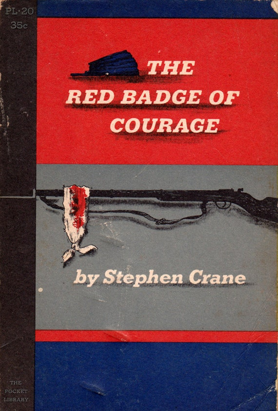 an analysis of the novel the red badge of courage by stephen crane Read red badge of courage: an episode of the american civil war by stephen crane with rakuten kobo this is a short novel published in 1895 and based vaguely on the battle of chancellorsville of the american civil war u.