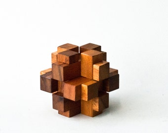 Popular items for 3d wooden puzzles on etsy for Architectural decoration crossword clue