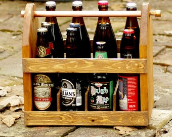 12 Pack Carrier - Twelve Pack - Beer Carrier - Groomsman Gift - Gift for Men