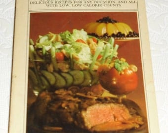Vintage Advertising Book - Better Homes and Gardens Calorie Counter's Cook Book Bantam 1972