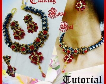 Enticing Rose Jewelry Set Tutorial