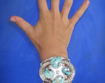 Turquoise Statement Bracelet