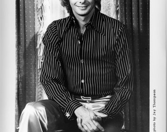 Barry Manilow Publicity Photo 8 by 10 Inches
